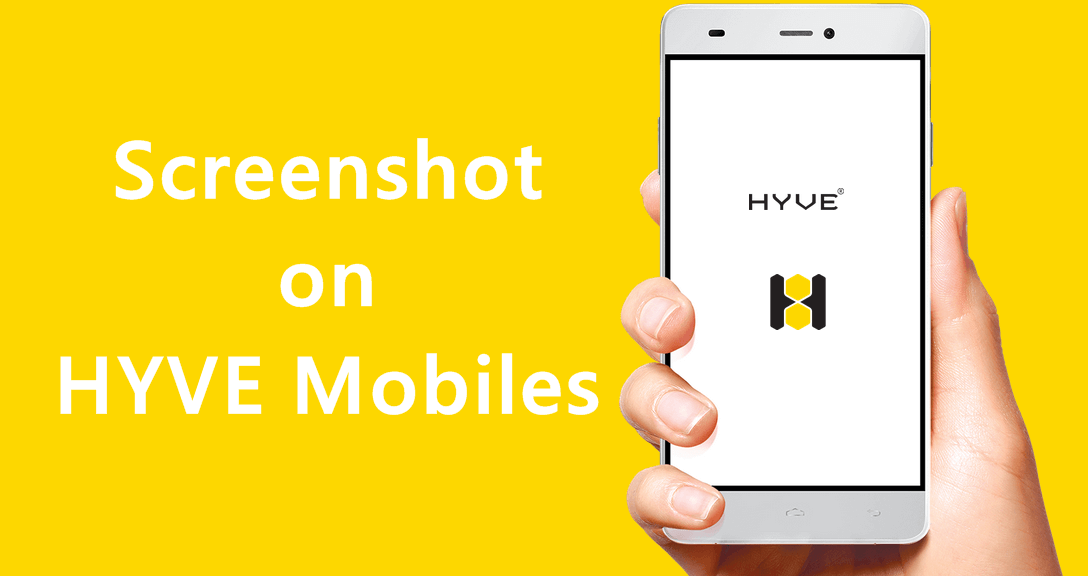 Screenshot on HYVE Mobiles