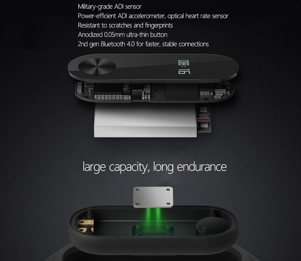 Xiaomi Mi Band 2 Hardware
