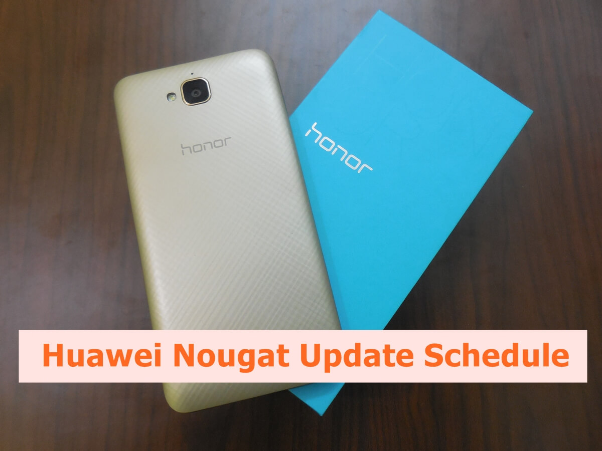 Honor Android Nougat Update