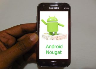 Samsung Android Nougat Update