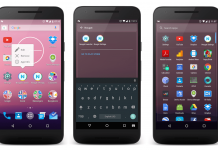 Android Nougat launcher