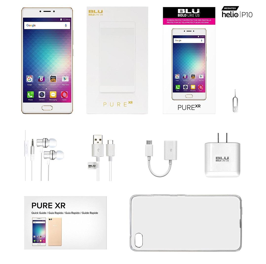 Blu Pure XR smartphone