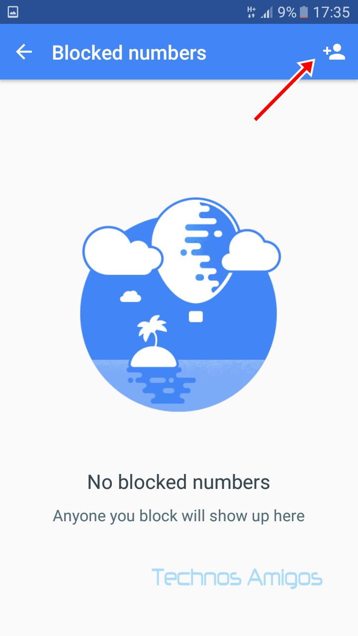Google Duo Blocking a contact