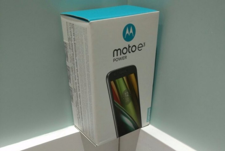Moto E3 Power