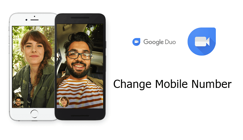 Change Mobile number on Google Duo