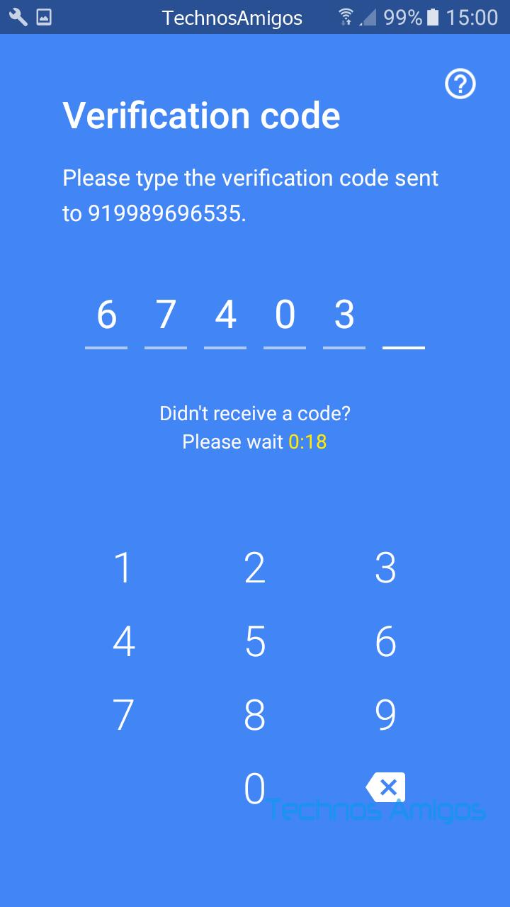 Google Duo Registration