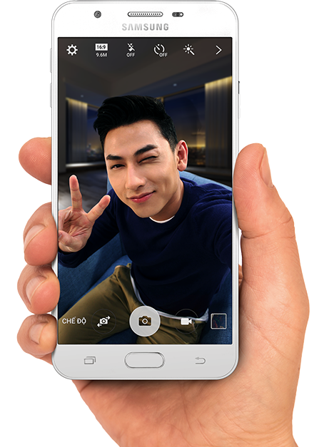 Samsung Galaxy J7 Prime promotional