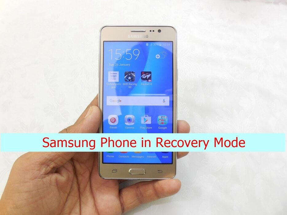 Samsung Galaxy Phones into Recovery Mode