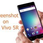 How to Take Screenshot on Blu Vivo 5R