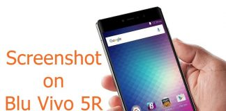Screenshot on Blu Vivo 5R