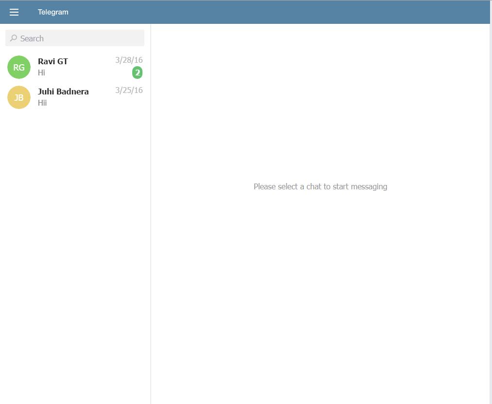 Telegrm web Version