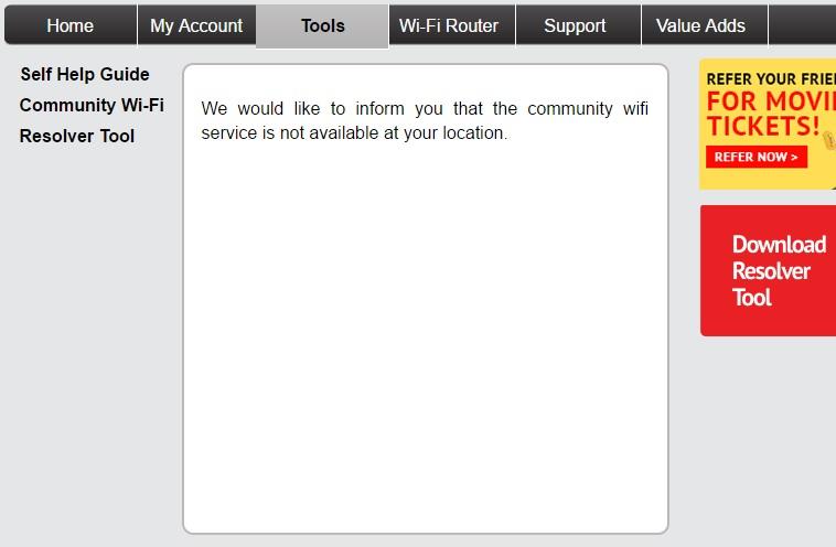 ACT Fibernet Community WiFi