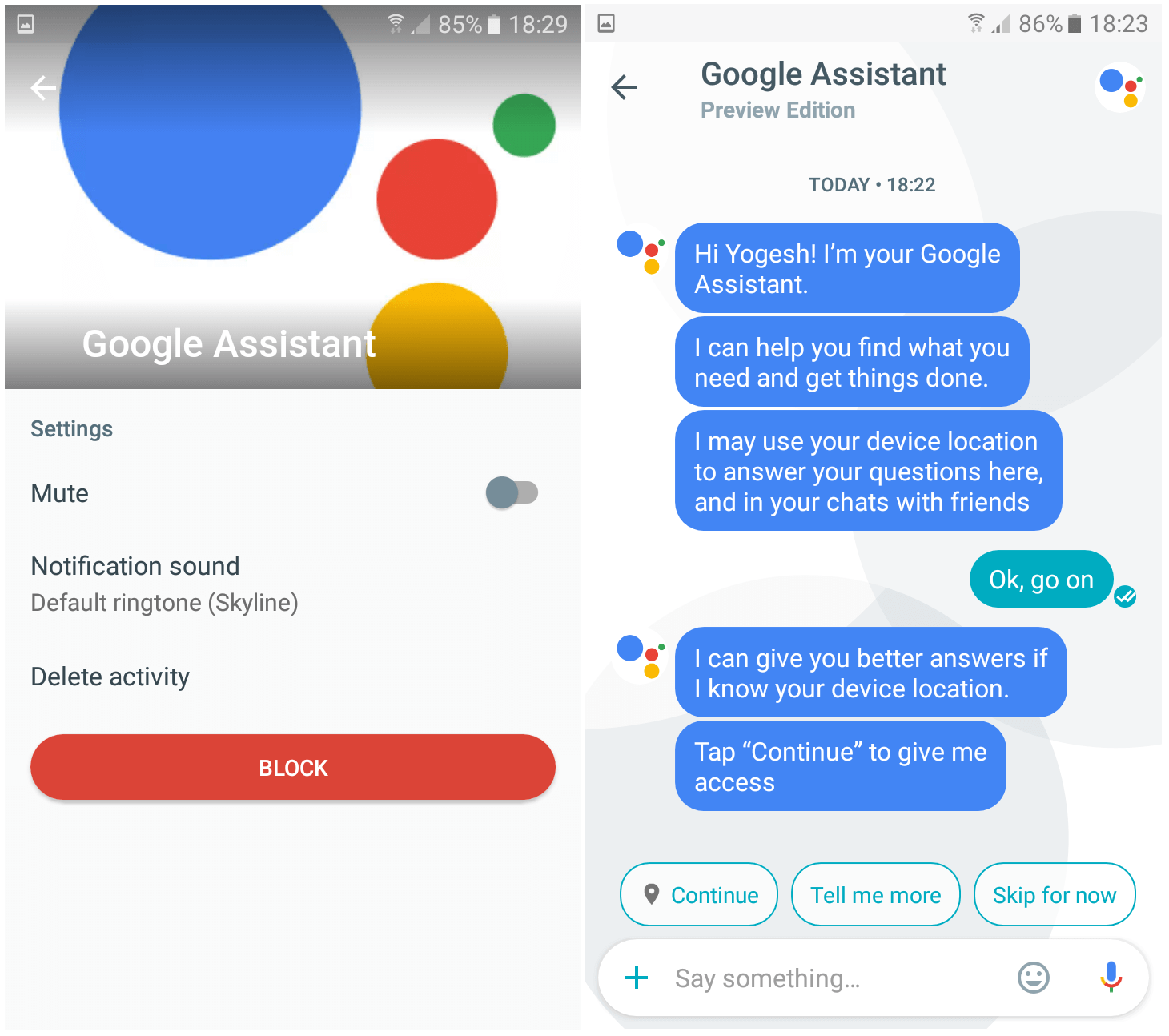 Google Assistant APK