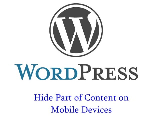 Hide WordPress Post Content