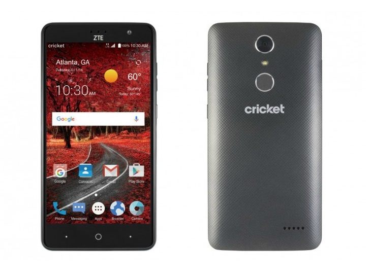 Cricket Wireless ZTE Grand X 4