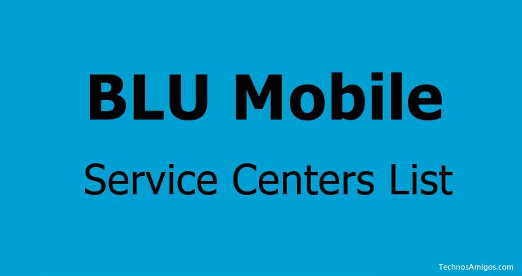 BLU Service Centers in India