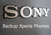 Backup Sony Xperia Phones