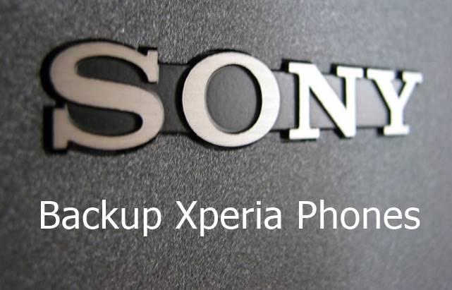 Backup Sony Xperia Phones