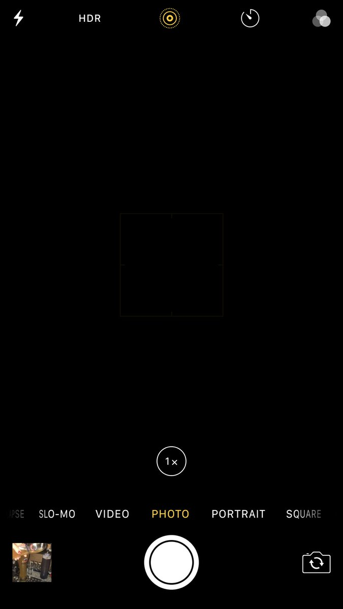 Black Screen iPhone 7 Plus