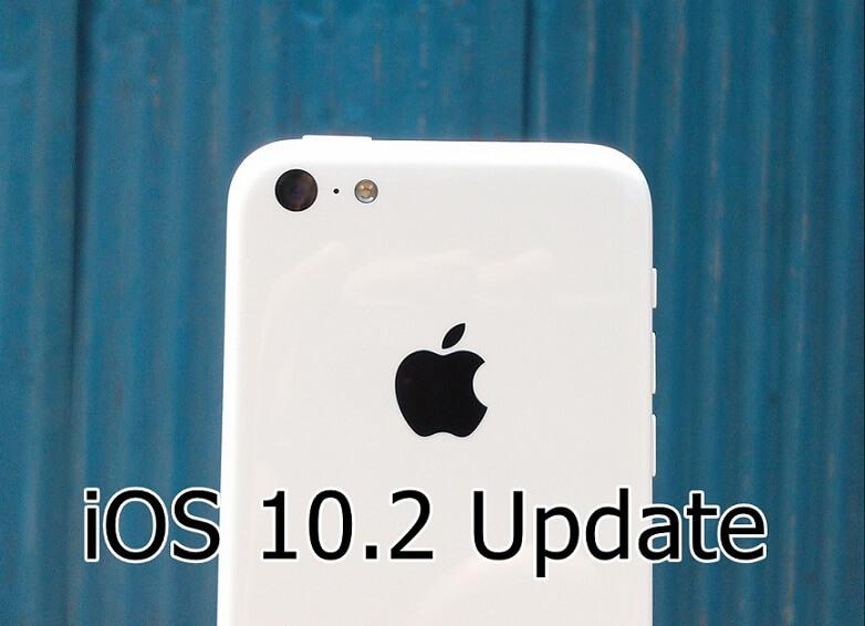 Apple iPhone iOS 10.2 update