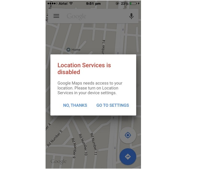 Location Services Not Available on iPhone