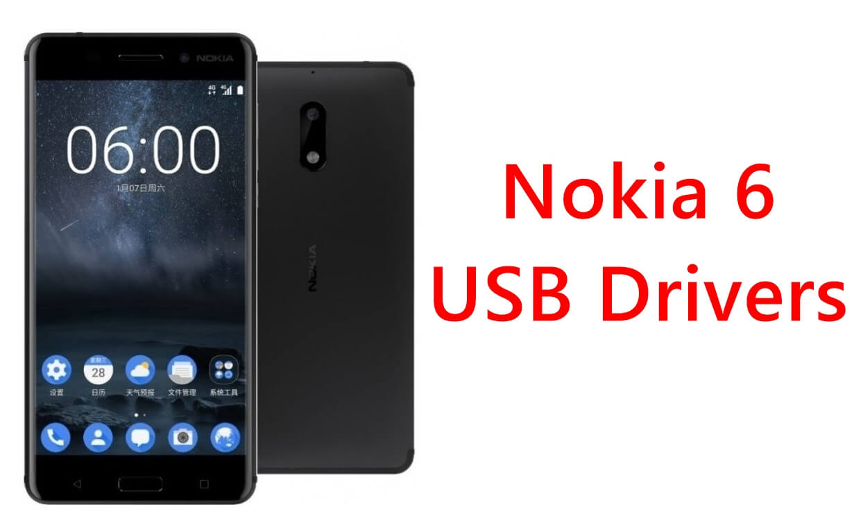 Nokia 6 USB Drivers to Transfer Nokia 6 Data & Photos to PC