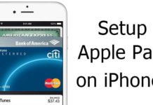 Setup Apple Pay on iPhone