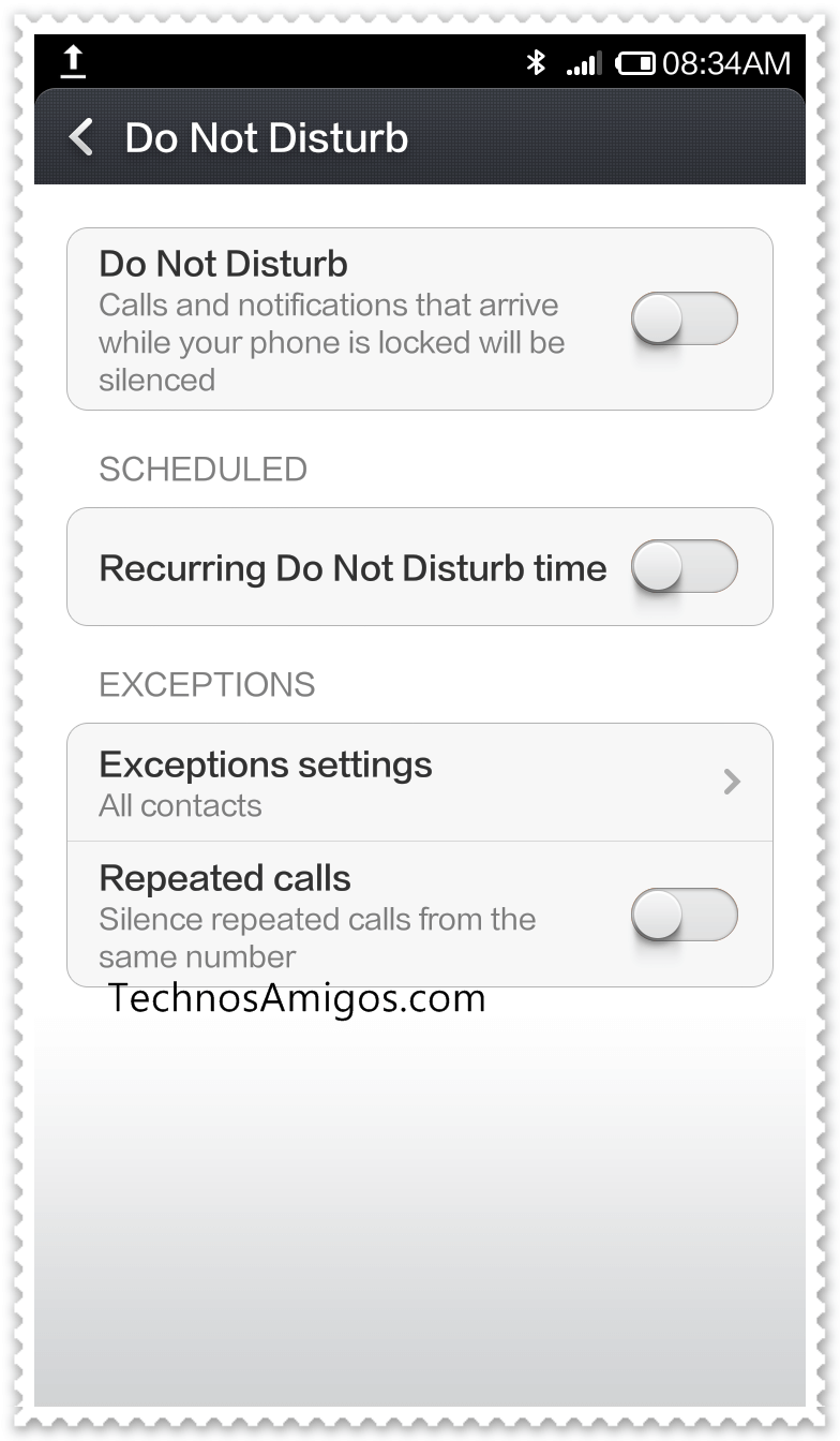 Xiaomi DND Mode