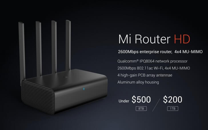 Xiaomi MI router HD Price