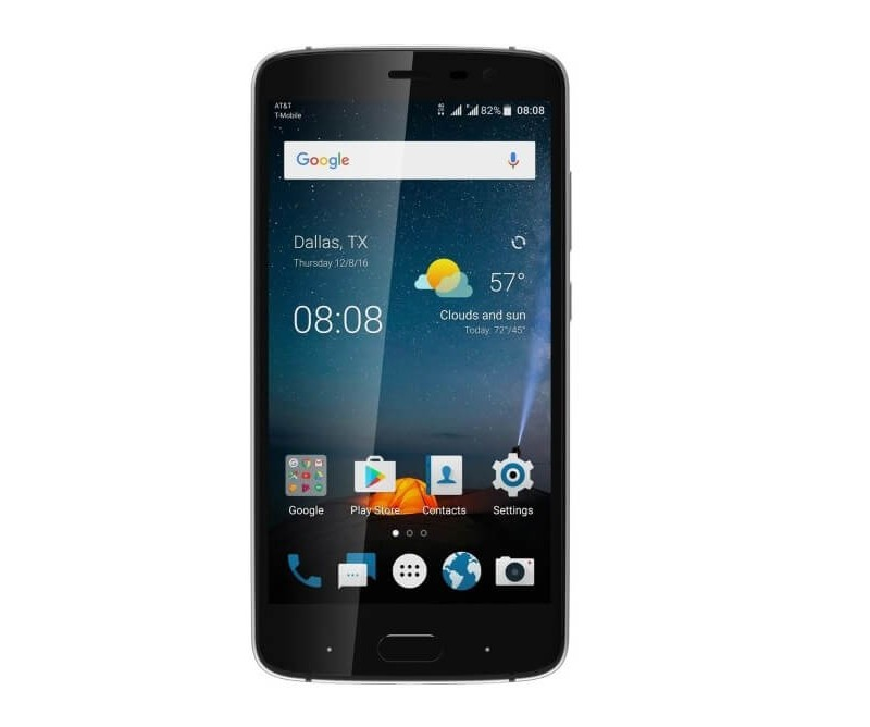 has very zte blade v8 pro nougat looking for