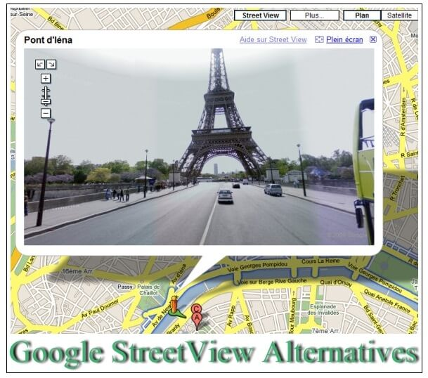 best Google StreetView Alternatives