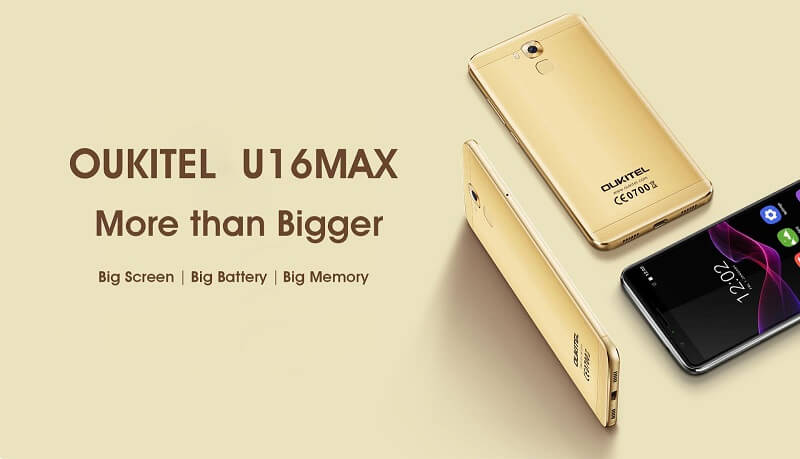 Oukitel U16 Max Specifications