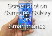Screenshot on Samsung Galaxy Express Prime