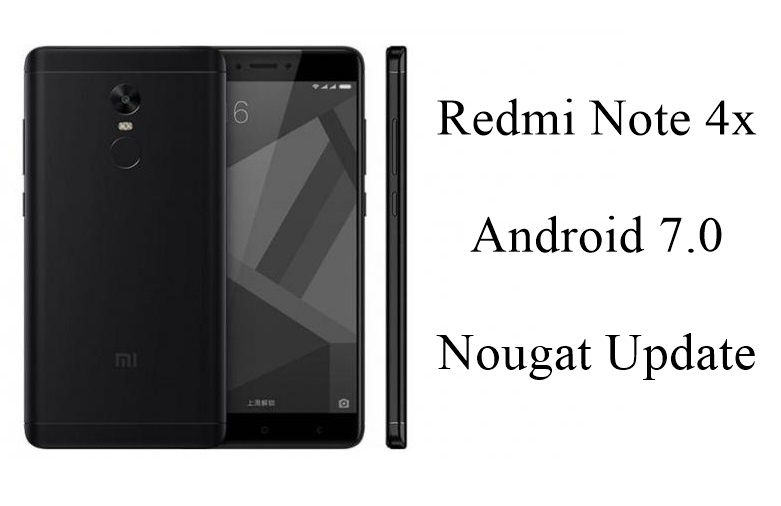 Xiaomi Redmi Note 4x Nougat update