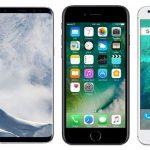 Samsung Galaxy S8 vs iPhone 7 vs Google Pixel Comparison