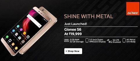 Gionee S6 phone