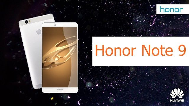 Huawei Honor Note 9