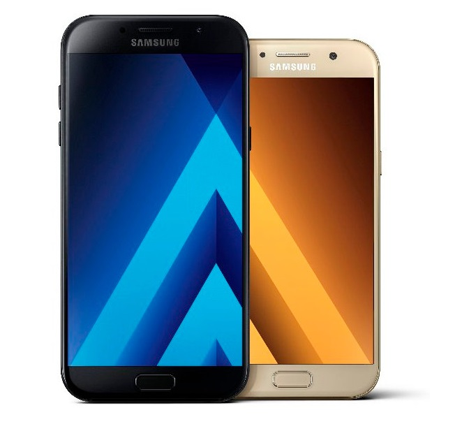 Samsung Galaxy A5 and A7 2017