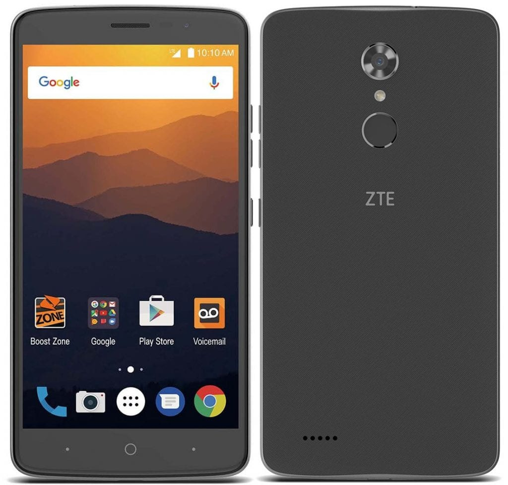 zte max xl memory card slot opportunity