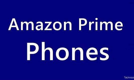 Amazon Prime Phones deals, offers, exclusive phones list