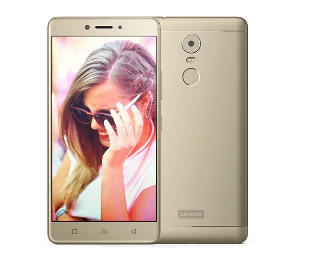 Lenovo K8 Note phone