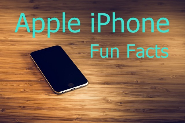 Apple iPhone Fun Facts