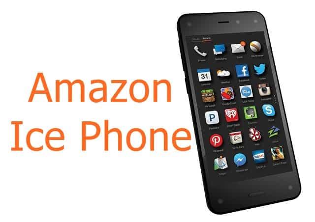 Amazon Ice smartphone