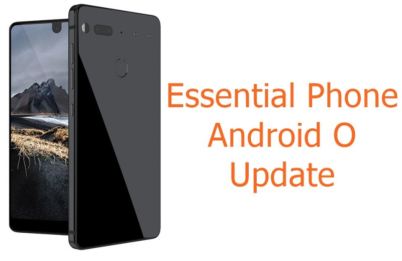 Essential phone Android O update