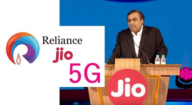 JIO 5G network
