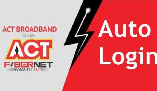 ACT Fibernet Auto login