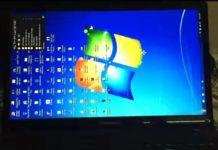 Windows Screen Flipped