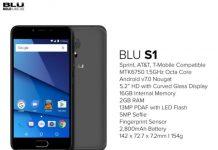 BLU S1 phone