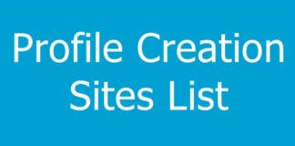 Best Profile Creation Sites List