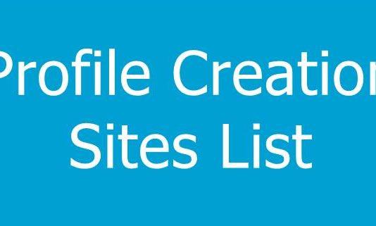 Best Profile Creation Sites List